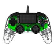 Nacon Wired Compact Controller - LED Green (PS4)