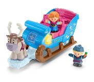 Fisher-Price Little People, Frozen / Huurteinen Seikkailu - Kristoffin Reki