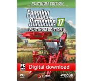 Focus Farming Simulator 17 - Platinum Edition (download)