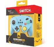 Steelplay Gcube Wired Controller - Blue - Peliohjain - Nintendo Switch