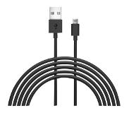 JUST WIRELESS JUST W USB-MUSB CABLE 3M BK