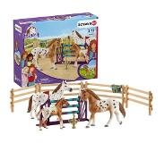 Schleich Hevoset Tournament training set & Appaloosa hors