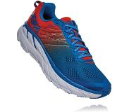 Hoka One One Clifton 6 Shoes Men, mandarin red/imperial blue 2020 US 9 | EU 42 2/3 Maantiejuoksukengät