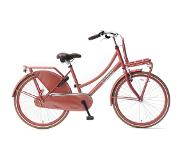 POPAL Daily Dutch Basic 24 Inch 42 cm Girls Coaster Brake Red(Wheel size 24 Inch)