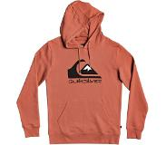 Quiksilver Comp Logo Screen Hoodie redwood Koko L