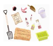 Our Generation - Hay and Neigh Horse Care Set (737476)