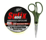 Sufix 832 120m 0,13 mm/8,2 kg neon yellow