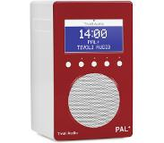 Tivoli Audio AUDIO PAL+ DAB RADIO RED