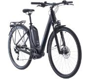 "Cube Touring Hybrid One 400 Easy Entry, black/blue 46cm (28"") 2020 Sähköpyörät"