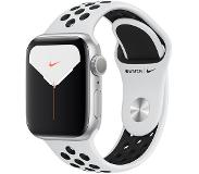 Apple Watch Series 5 Nike+ 40mm (hopea/musta Nike ranneke)
