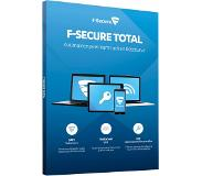 F-SECURE Total (1 Year 5 Devices)