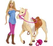 Mattel Doll and Horse (Blonde)