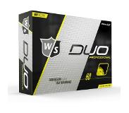 Wilson Staff Duo Pro, Yellow Matte
