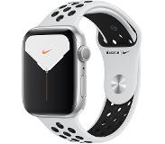 Apple Watch Series 5 Nike+ 44mm (hopea/musta Nike ranneke)