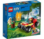 LEGO City Fire 60247 Metsäpalo