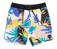 Quiksilver Highline Tropical Flow 19 Boardshorts snow white Koko 32