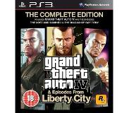 Sony PS3: Grand Theft Auto IV Complete Edition