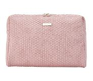Jjdk Cosmetic Bag Bellami Large Soft Pink Weave PU (31x20x18) 61339