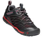 Keen Chandler CNX Shoes Youth, raven/fiery red US 6 | EU 38 2020 Kevyet vaelluskengät