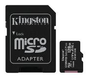 Kingston 128GB MICROSDHC CANVAS SELECT PLUS 100R