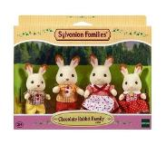 Sylvanian Families SF Chocolate Rabbit Family