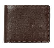 Volcom Straight Leather Wallet brown Koko Uni