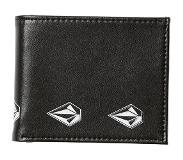Volcom Empty PU Wallet new black Koko Uni