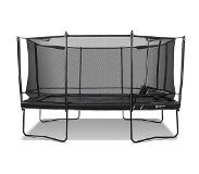North Trampoline Explorer Rectangular 460 Black + Turvaverkon