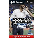 SEGA Football Manager Touch 2018 - PC Windows,Mac OSX,Linux