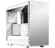 Fractal Design Define 7 Clear Glass Valkoinen