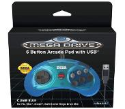 Just for games SEGA Mega Drive Mini 6-B USB - Blue - Peliohjain - Sega Megadrive