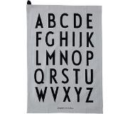 Design Letters Classic Kitchen Towel 2-pack Grey - Keittiöpyyhkeet Puuvilla Harmaa - 10503000GREY