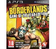 Sony Borderlands Game Of The Year PS3