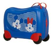 Samsonite Dreamrider Matkalaukku Disney 28L, Minnie/Mickey Stripes