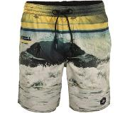 O'Neill Archive Boardshorts yellow aop w / blue Koko L