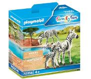 Playmobil Zoo - Zebras with Foal