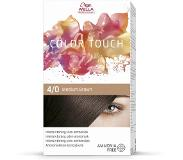 Wella Color Touch, 4/0 Medium Brown