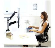 Fellowes Platinum Monitor Arm - desk mount (adjustable arm)