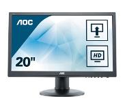"AOC M2060PWDA2 LED display 49,6 cm (19.5"") 1920 x 1080 pikseliä Full HD Musta"