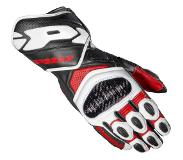 Spidi Carbo 7 Red Motorcycle Gloves L