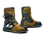Forma Terra Evo Low Brown Motorcycle Boots 48