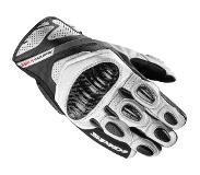 Spidi Carbo 4 Coupe Black White Motorcycle Gloves S