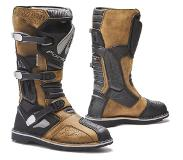 Forma Terra Evo Brown Motorcycle Boots 48