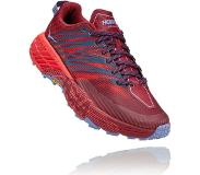 Hoka One One Speedgoat 4 Shoes Women, cordovan/high risk red US 6,5 | EU 38 2020 Polkujuoksukengät
