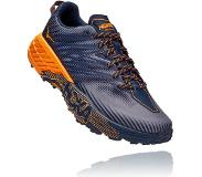 Hoka One One Speedgoat 4 Shoes Men, black iris/bright marigold US 12 | EU 46 2/3 2021 Polkujuoksukengät