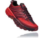 Hoka One One Speedgoat 4 Shoes Men, cordovan/high risk red US 12 | EU 46 2/3 2020 Polkujuoksukengät