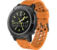 Denver SW-660 - black - smart watch with band - orange