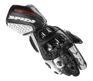 Spidi Carbo Track Evo Black White Motorcycle Gloves M