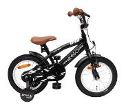 Amigo BMX Fun 14 Inch 21 cm Boys Coaster Brake Matte black(Wheel size 14 Inch)