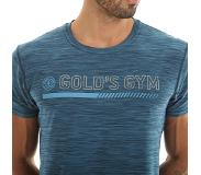 Gold's Gym Golds Gym Crew Neck Performance Tee, Blue Marl